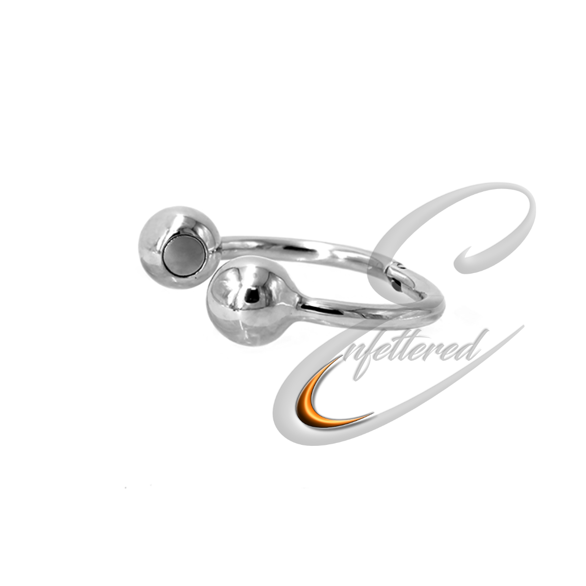 Enfettered Stainless Steel Magnetic Cock Ring