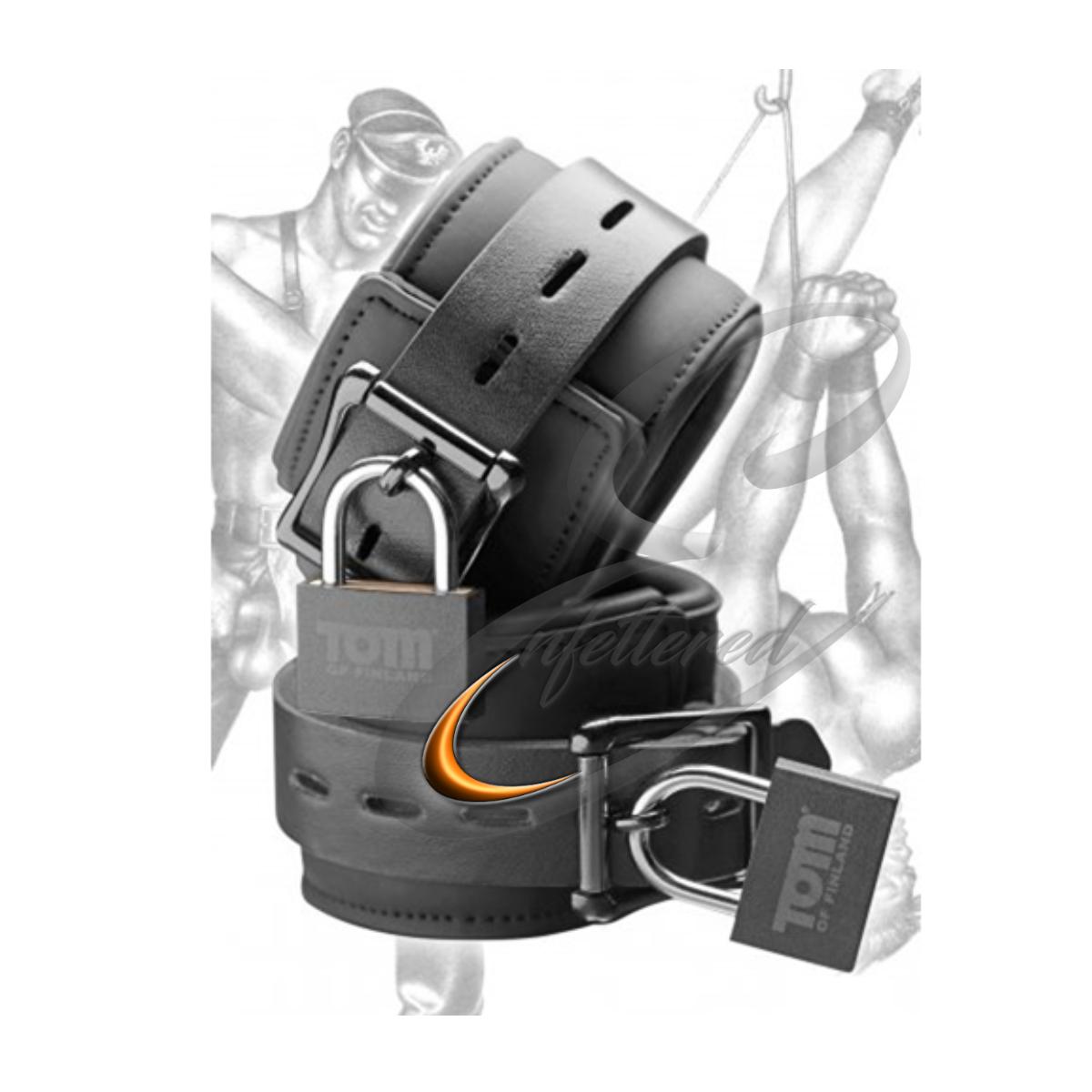 Enfettered Neoprene Wrist Cuffs by Tom of Finland