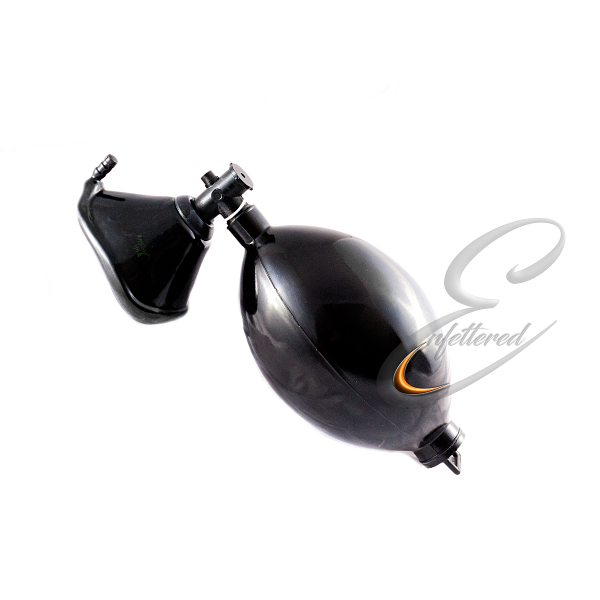 Enfettered Respirator Mask Set with Bellows