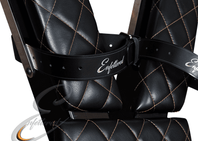 Enfettered Cross Stitching and Straps