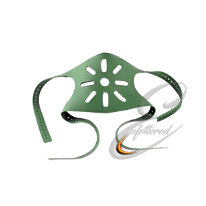 Latex Green Mask Strap